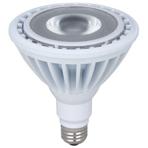 flood light led bulbs shop utilitech 120w equivalent dimmable daylight par38 led