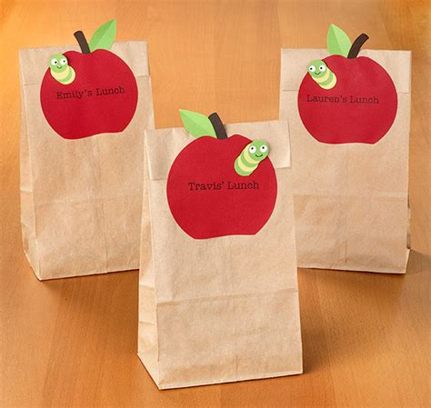 paper lunch bag crafts how to back to school lunch labels