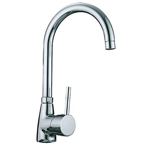 sink taps mixer for kitchen kadaya chrome single lever swivel spout kitchen sink mixer