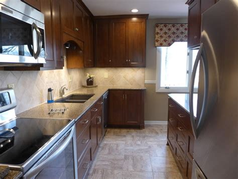 Small Kitchen Design Ideas Budget 1960 s small galley kitchen remodeled before and after