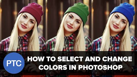 how to color in photoshop how to select and change colors in photoshop