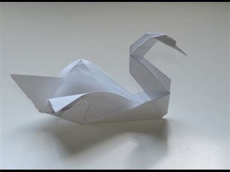 origami rob how to make an origami swan intermediate rob s world