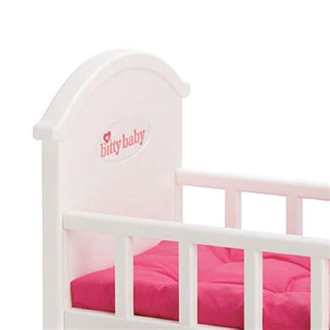 bitty baby crib american bitty baby pink crib bedding for doll new ebay