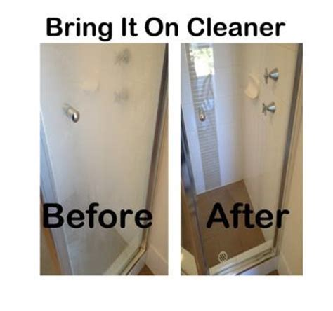 how to clean mineral deposits from shower doors shower screen calcium remover bring it on cleaner