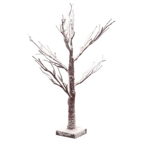 small light up tree small led light up indoor outdoor snow covered brown