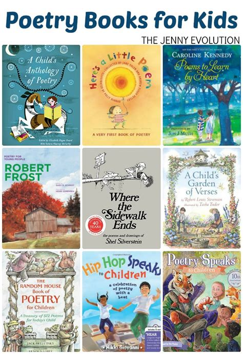 poetry picture books for children poetry books for children poetry study unit