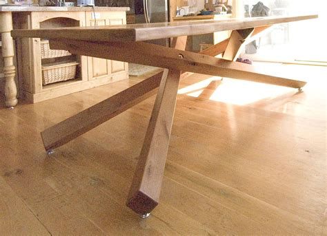 Custom Made Dining Room Tables hand crafted dining table by terry s fine woodworking