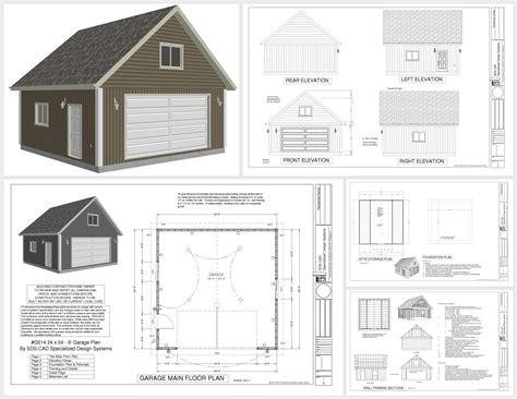 plans for building a garage plans rv garage plans