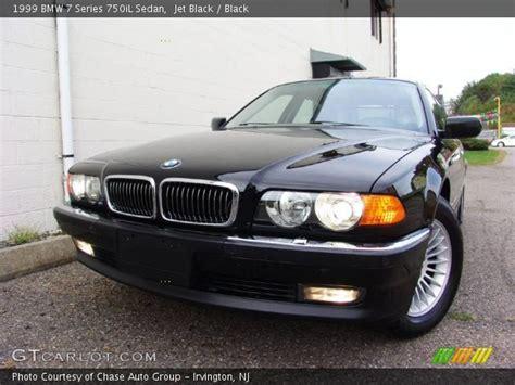 1999 Bmw 750il by Jet Black 1999 Bmw 7 Series 750il Sedan Black Interior