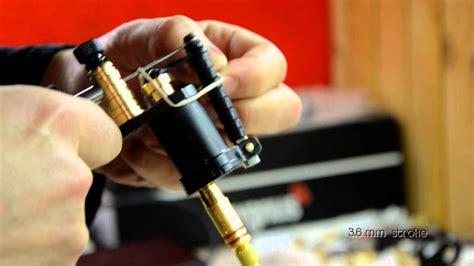 ikarus handmade rotary tattoo machines youtube