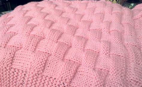 Realistic Basket Weave Pattern Knit By 4renee3327922