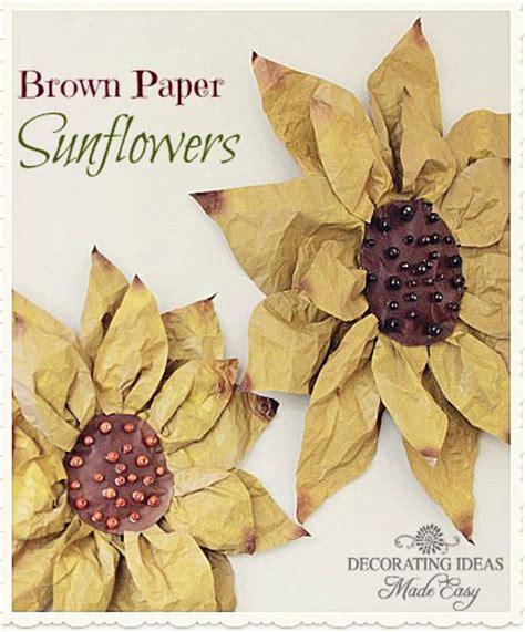 brown paper craft amazing brown paper bag tutorials u create