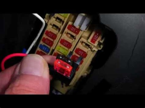 how to use fuse nissan juke fuse box drl kit wiring