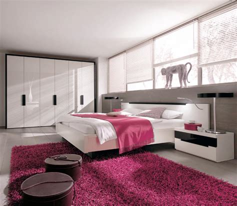 bedroom designs pink modern bedroom interior design with pink white color ideas