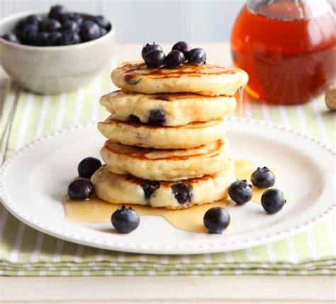 recipe blueberry pancakes blueberry lemon pancakes recipe food