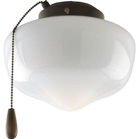home depot ceiling fan lights progress lighting airpro 1 light antique bronze ceiling