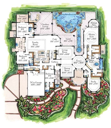 small luxury floor plans 1000 ideas about floor plans on house plans