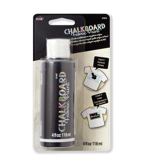 chalk paint joann chalkboard fabric paint 4oz jo