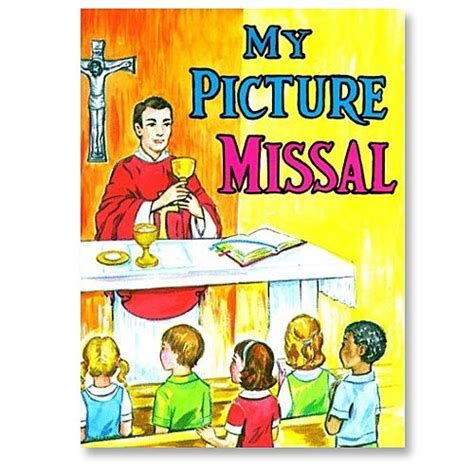 st joseph picture books st joseph picture book my picture missal