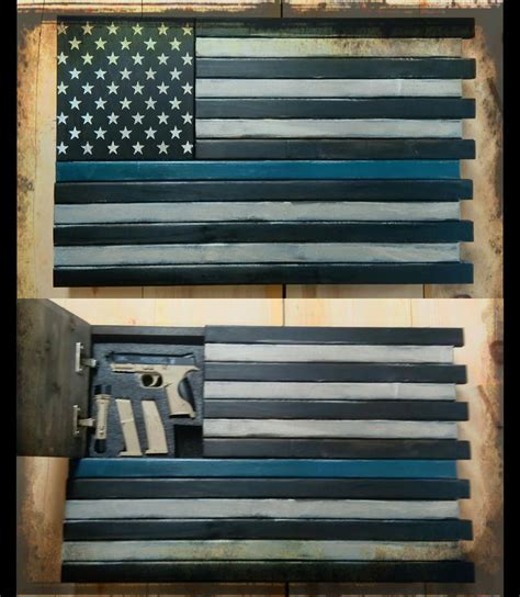 Black Dining Room Table leo thin blue line home defense concealment flag