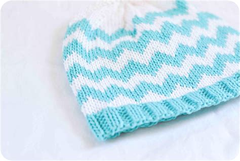 chevron knit pattern and lovely the chevron baby hat pattern is finally