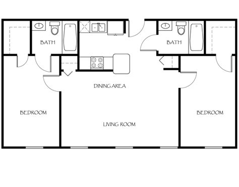2 bedroom 2 bath floor plans floor plans the apartments at ames privilege