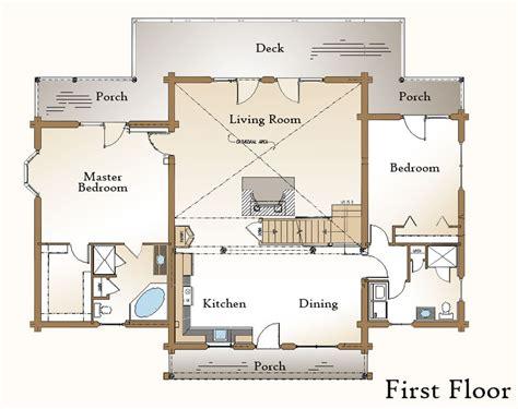 log home basement floor plans log home floor plan 171 real log style 171 page 2