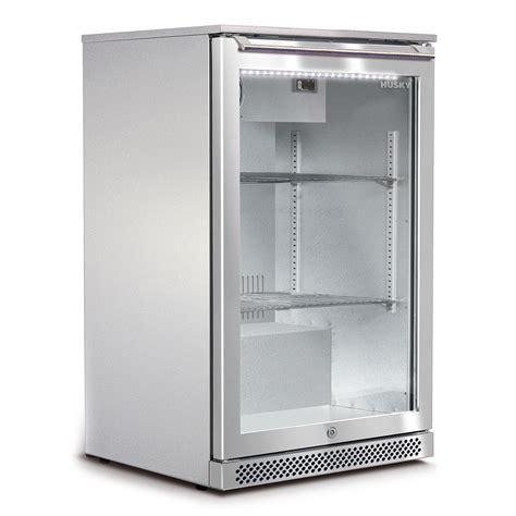 glass door bar fridge husky alfresco 1 glass door bar fridge available brisbane
