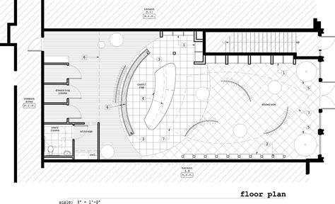 floor plan of retail store bleu retail store go design archinect