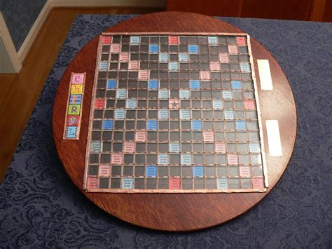 wood scrabble board custom scrabble board by fzxtchr lumberjocks