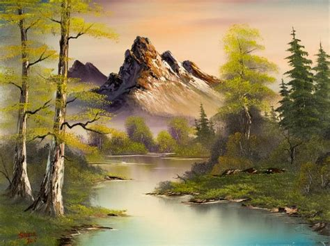 bob ross paintings mountains bob ross mountain splendor paintings bob ross