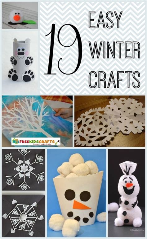 easy winter crafts 19 easy winter crafts for allfreekidscrafts
