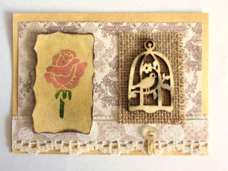 vintage card supplies a shabby chic greeting card thriftyfun