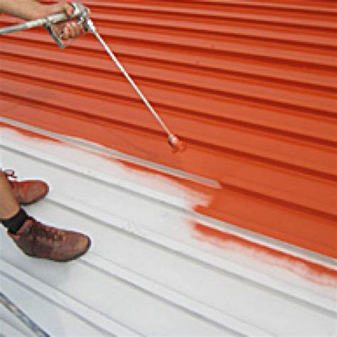 spray painter contract metal roofing contractor buildbest roofing construction