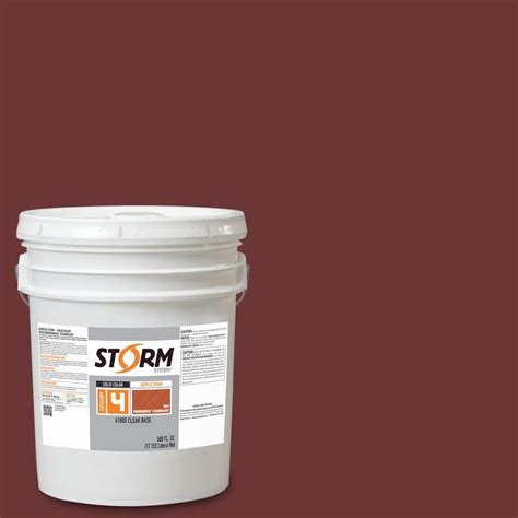 acrylic paint exterior wood system category 4 5 gal redwood exterior wood