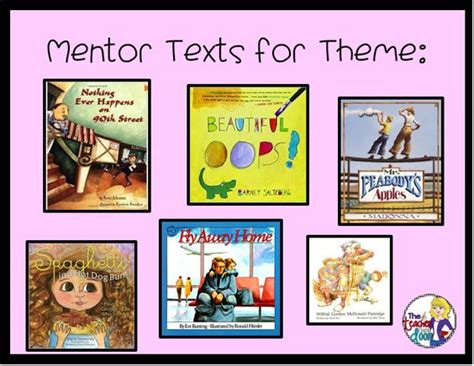 teaching theme with picture books the world s catalog of ideas