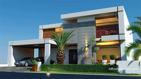 contemporary home plans and designs 3d front elevation beautiful contemporary house
