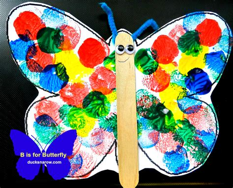 butterfly craft b is for butterfly preschool lesson craft ducks n a row