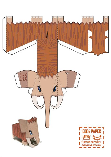 animal paper crafts templates 16 best photos of fruit 3d paper crafts templates free