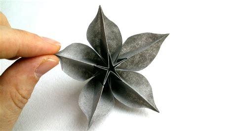 carambola flowers origami origami tutorials origami flower carambola sprung