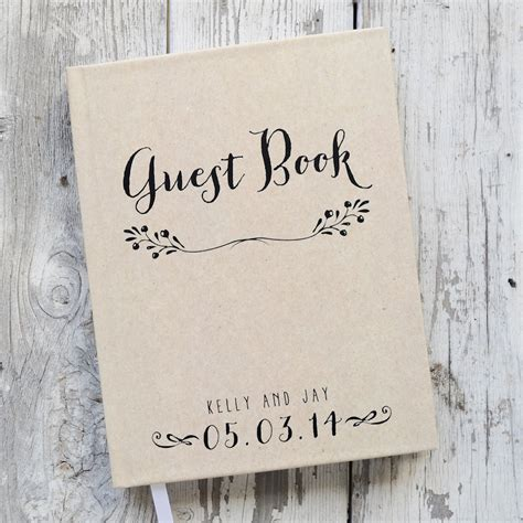 picture guest book wedding guest book wedding guestbook custom guest book