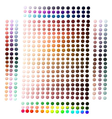 paint tool sai color swatches skin colour others palette by spudfuzz on deviantart