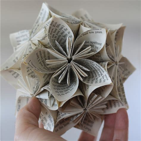 paper craft using books innovative idea upcycled newspapers handmade crafts