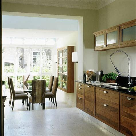 kitchen and dining room ideas walnut kitchen and dining room extension kitchen