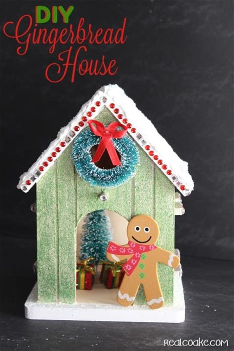 gingerbread house crafts for crafts to make your own gingerbread house