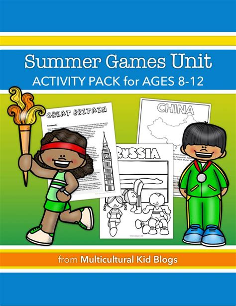 for ages 8 12 summer unit activity pack ages 8 12