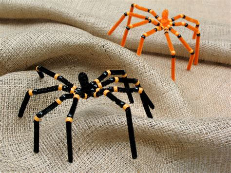 Spider Pipe Cleaner Craft Preschool Education