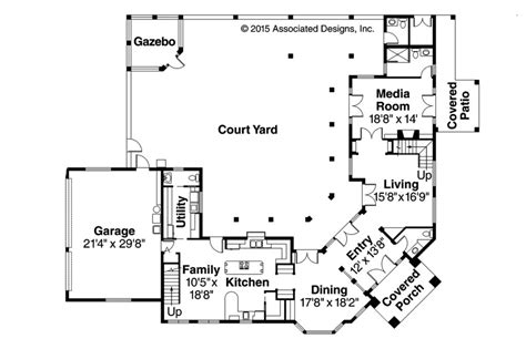 floor plans with courtyard courtyard house plans inspiring homes with courtyards hacienda style house plans with inspiring