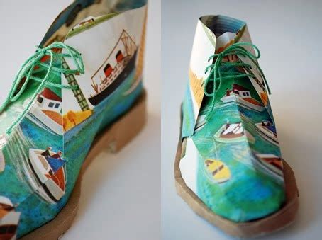 paper shoe craft top 25 best paper shoes ideas on box