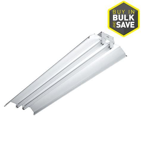 fluorescent light fixture lowes shop metalux icf series fluorescent light common 4